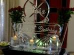 Art Deco Birthday Vases with Candles 50x40 $600.00
