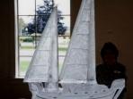 Sailboat Double Mast 40x40 $450.00