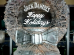Holiday Wreath with logo