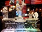 HP Ice Bar with Lady Luge Custom