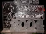Absolut New Years Custom