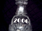 Champagne Bottle with Year 40x20 $300.00 Add Logo $100.00