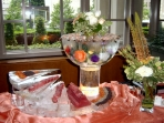 Seafood Display with Bowl Custom
