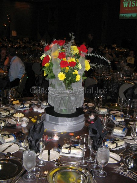 Table Centerpieces | Cascade Crystal Ice