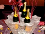Champagne Center Piece 20x20x20 $200.00 Minimum Order of Three