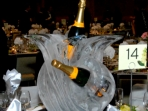 Champagne Centerpiece 20x20x20 $200.00 Minimum Order of Three