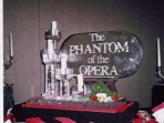 Phantom of the Opera Logo Candle Holders 40x40 $450.00