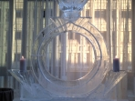 Diamond Ring Luge 40x50 $400.00 Add Candle Holders $25.00