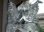 Lovebirds on a Heart 40x20 $325.00 Names Additional-25.00