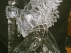 Angel with Candle 40x20 $400.00