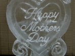 Mothers Day Heart with Dove 40x20 $300.00