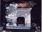 Santa Fireplace 50x40 $600.00
