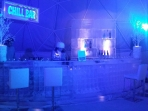 Chill Ice Bar 14\' with 6\' Ice Wall Custom
