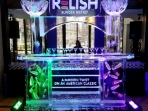 Relish Ice Bar with Pillard Arch and Luges Custom