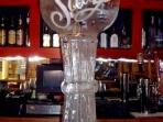 Margarita Glass Luge 40x20 $400.00