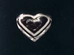 Single Flat Heart Sorbet Cup