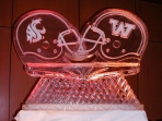WSU and UW Helmets 40x40 $450.00