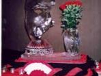 Phantom of the Opera Mask with Vase 40x40 $450.00