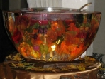 Punch Bowl 12x22 $250.00 Flowers Additional